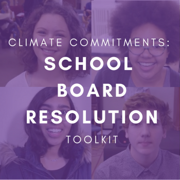 Climate Commitments: School Board Resolution Toolkit