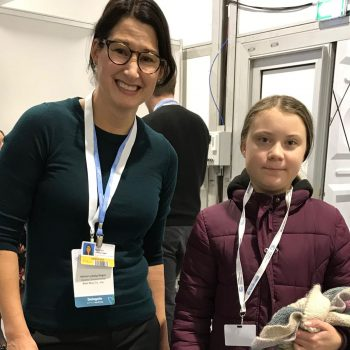 Alexis and Greta Thunberg