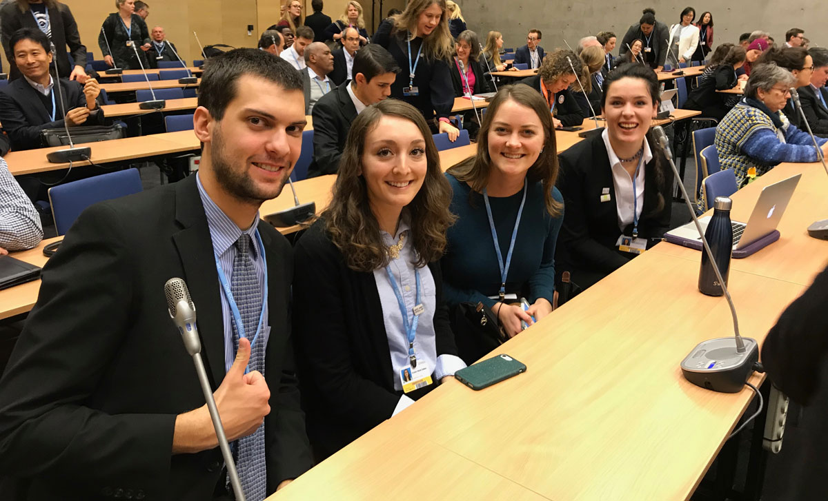 U of M youth waiting to hear UN Secretary General, Antonio Guterres
