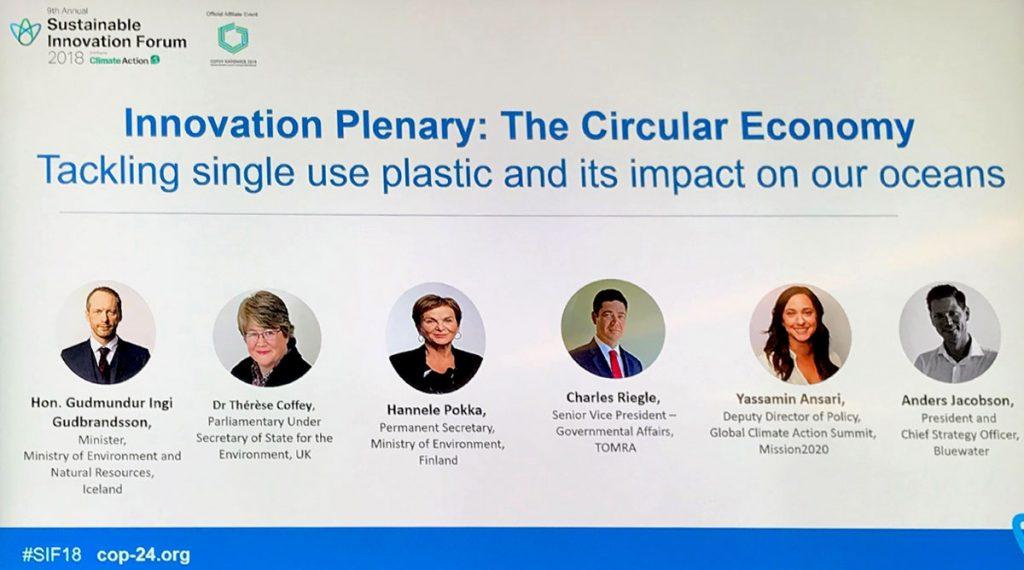 Sustainable Innovation Forum Plenary