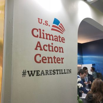 Sign for U.S. Climate Action Center