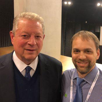 Jesse and Al Gore