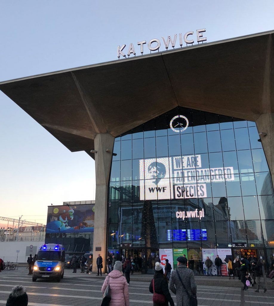 Katowice entrance - We are an endangered species