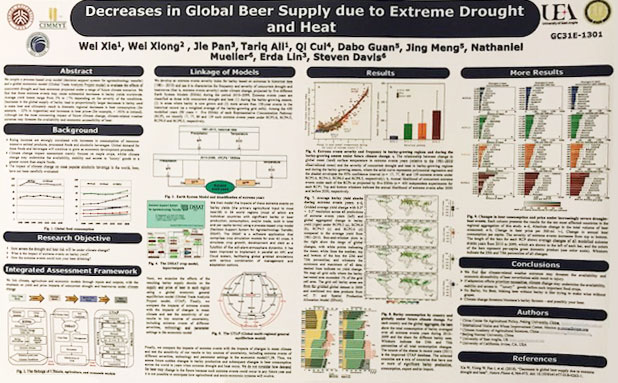 Report on global decreases in beer supply