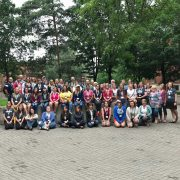 Group photo at Summer Institute for Climate Change Education 2018