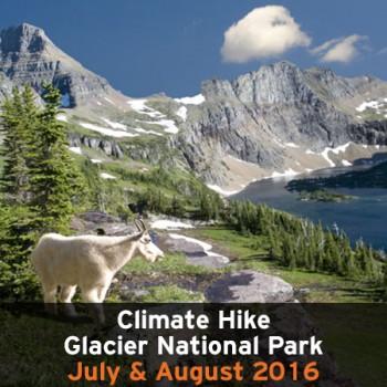 Climate Hike Glacier