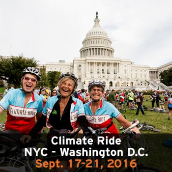 Climate Ride NYC DC