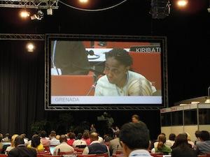 A delegate from Grenada