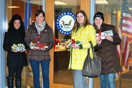 Over 1000 young people wish Senator Klobuchar happy holidays