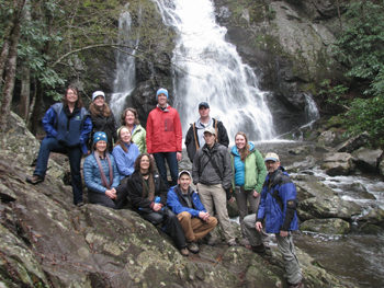 Parks Climate Challenge in the Smoky Mountains