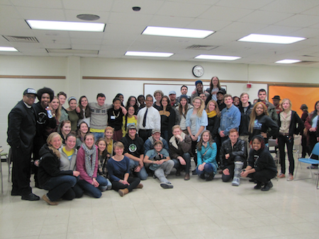 47 high school and college youth turned out for the Clean Air Act Forum. All had traveled to Power Shift 2013 in October
