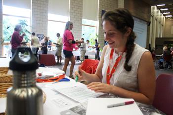 Summer Institute 2011 - Libby Fones, Education Intern