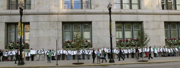 Illinois Student Environmental Coalition: Chicago Coal Campaign