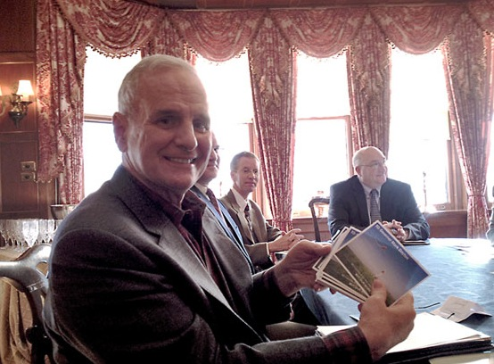 Governor Dayton Postcard Delivery
