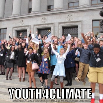 Youth4Climate Meme