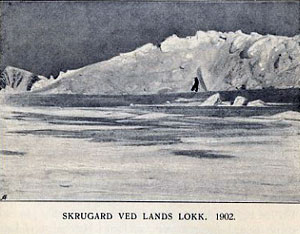 Pressure Ridge in Northern Nansen Sound 1902