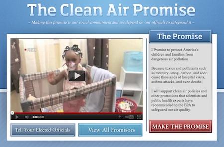 Support Clean Air