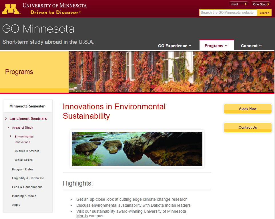 Innovations in Environmental Sustainability